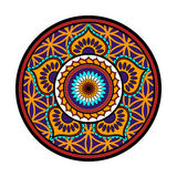 Ornamento de la flor de Lotus Imagen de archivo libre de regalías
