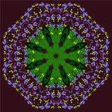 Ornamento de la libélula Foto de archivo libre de regalías
