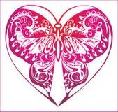 Ornamento de la lila con flourish Fotografía de archivo libre de regalías