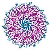 Ornamento de la mandala Foto de archivo libre de regalías