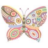 Ornamento de la mariposa Imagen de archivo