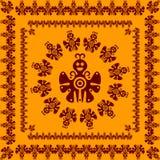 Ornamento de la mariposa Imagen de archivo libre de regalías