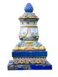 Ornamento de la mayólica imágenes de archivo libres de regalías