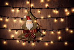 Ornamento de la Navidad Fotografía de archivo