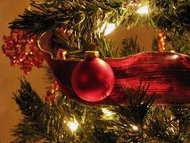 Ornamento de la Navidad imagenes de archivo