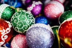 Ornamento de la Navidad de Colorfull Imagen de archivo
