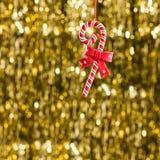 Ornamento de la Navidad del caramelo Fotos de archivo