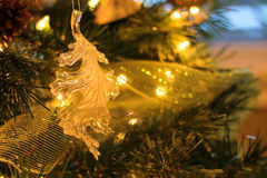 Ornamento de la Navidad del roble Imágenes de archivo libres de regalías