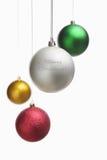 Ornamento de la Navidad sobre blanco fotos de archivo libres de regalías