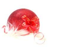 Ornamento de la Navidad y del Año Nuevo Foto de archivo