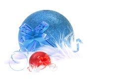 Ornamento de la Navidad y del Año Nuevo Imagen de archivo