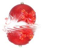 Ornamento de la Navidad y del Año Nuevo Imagenes de archivo