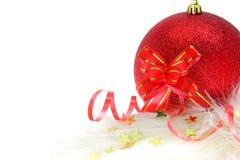 Ornamento de la Navidad y del Año Nuevo Fotos de archivo libres de regalías