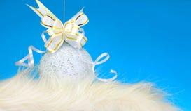 Ornamento de la Navidad y del Año Nuevo Foto de archivo libre de regalías