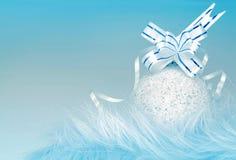 Ornamento de la Navidad y del Año Nuevo Imagen de archivo libre de regalías