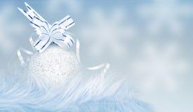 Ornamento de la Navidad y del Año Nuevo Imágenes de archivo libres de regalías