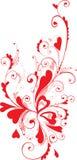 Ornamento de la tarjeta del día de San Valentín Fotografía de archivo