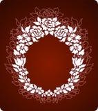 Ornamento de las flores Imagen de archivo libre de regalías