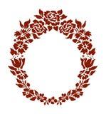 Ornamento de las flores Fotografía de archivo libre de regalías