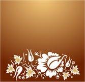 Ornamento de las flores Ilustración del Vector