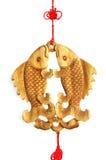Ornamento de los pescados Imagen de archivo libre de regalías