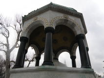 Ornamento de mármore de oriente da coluna Imagem de Stock Royalty Free