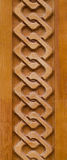 Ornamento de madeira Fotos de Stock