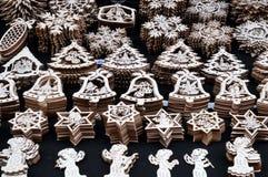 Ornamento de madeira do Natal, Praga Imagem de Stock Royalty Free