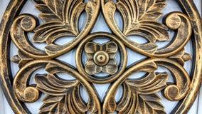 Ornamento de madeira para a casa imagens de stock royalty free