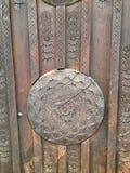 Ornamento de madera Imagen de archivo libre de regalías