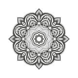 Ornamento de Mandala Circular Foto de Stock