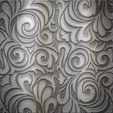 Ornamento de metal Fotografia de Stock