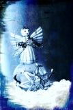 Ornamento de Navidad de Grunge stock de ilustración