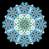 Ornamento de Nawa Marruecos Foto de archivo