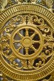 Ornamento de oro de Tence fotografía de archivo