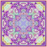 Ornamento de Paisley para la bufanda Imágenes de archivo libres de regalías