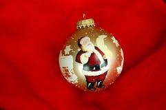 Ornamento de Papá Noel Fotos de archivo libres de regalías