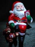 Ornamento de Papai Noel Imagem de Stock Royalty Free