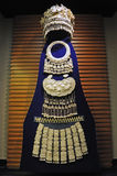 Ornamento de prata da minoria chinesa de Miao Foto de Stock Royalty Free