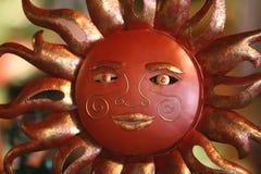 Ornamento de Sun Fotos de archivo libres de regalías