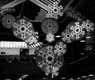 Ornamento de suspensão do efeito de néon escuro Imagem de Stock Royalty Free