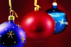 Ornamento de suspensão do Natal Foto de Stock