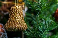 Ornamento de uma árvore de Natal decorada Imagem de Stock