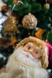 Ornamento de uma árvore de Natal decorada Imagens de Stock Royalty Free