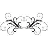 Ornamento decorativo Imagem de Stock Royalty Free