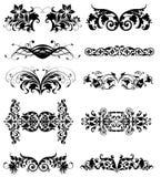 Ornamento decorativo ilustración del vector