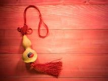 Ornamento decorativo chino del Año Nuevo Fotografía de archivo