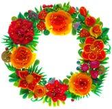 Ornamento decorativo colorato Immagini Stock Libere da Diritti