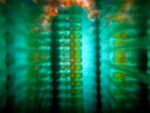 Ornamento decorativo colorido verde do mosaico de Blured Tema da matriz imagens de stock