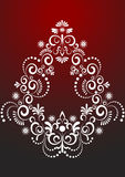 Ornamento decorativo da beira. Artes gráficas. Foto de Stock